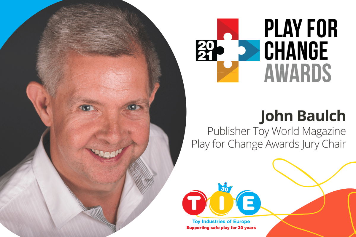 John Baulch, Chair of TIE's #PlayForChangeAwards Jury, on why he's proud to be part of the Awards